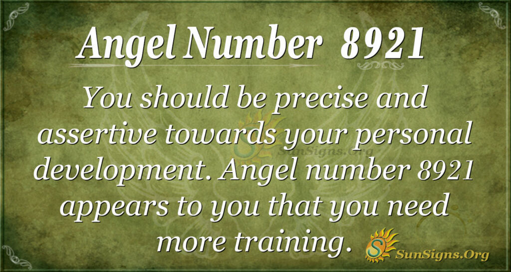 8921 angel number