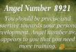 8921 angel number