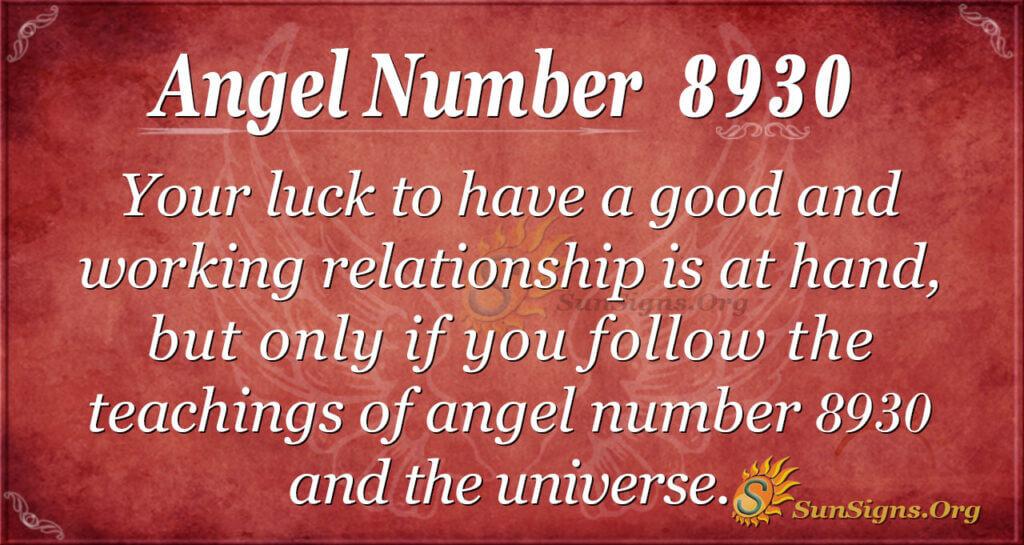 8930 angel number