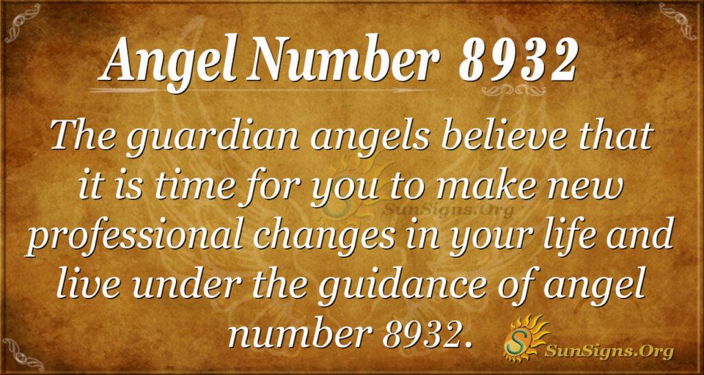 8932 angel number