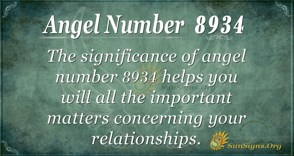8934 angel number