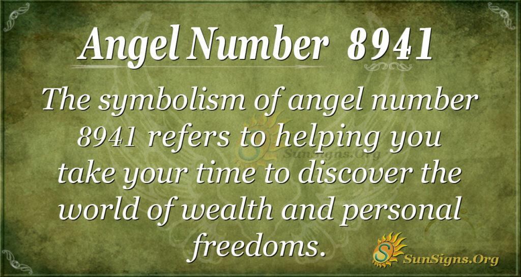 8941 angel number