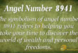 8941 angel number