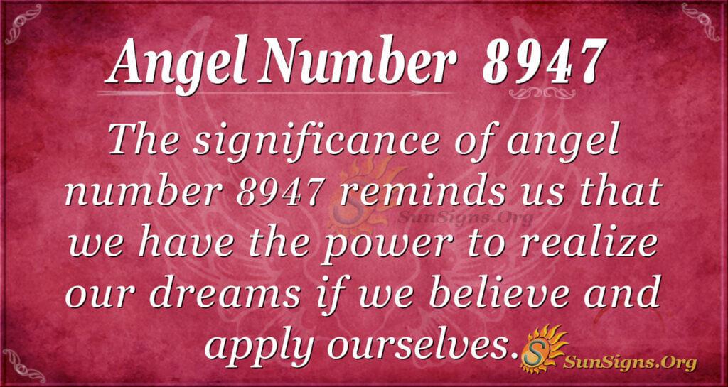 8947 angel number