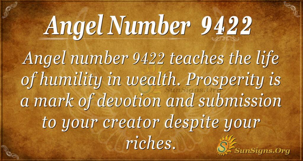 9422 angel number