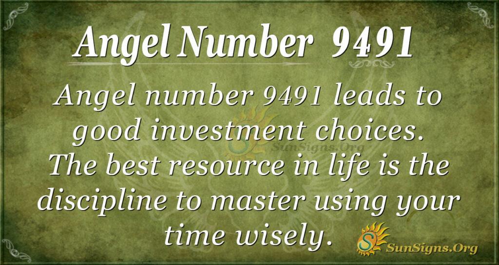 9491 angel number
