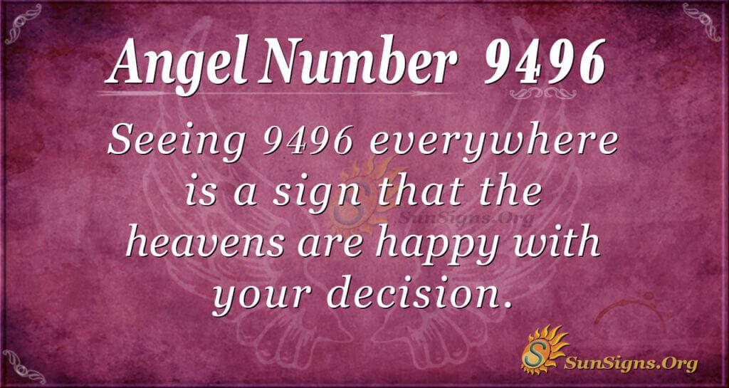 9496 angel number