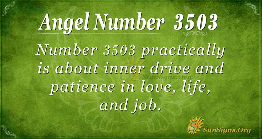 3503 angel number