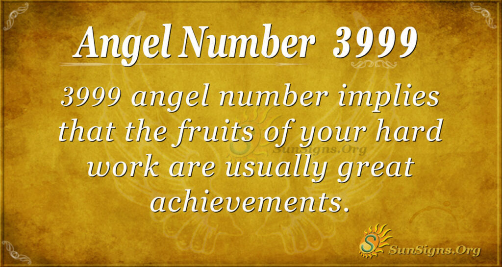 3999 angel number