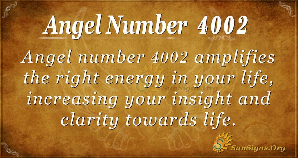 4002 angel number
