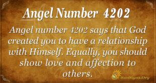 4202 angel number