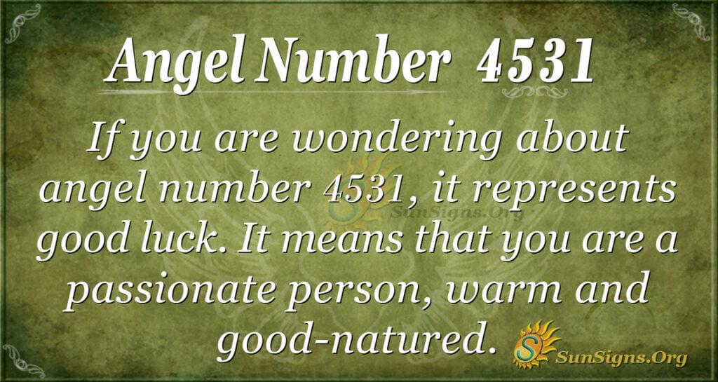 4531 angel number