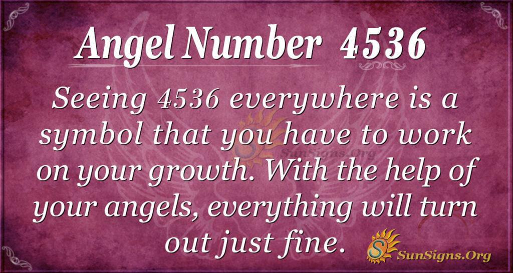 4536 angel number