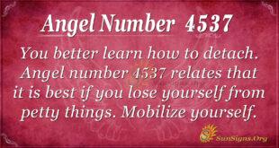 4537 angel number