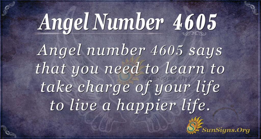 4605 angel number