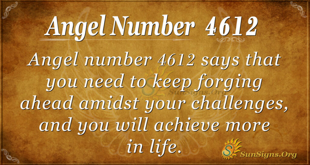4612 angel number