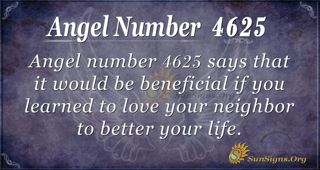 4625 angel number