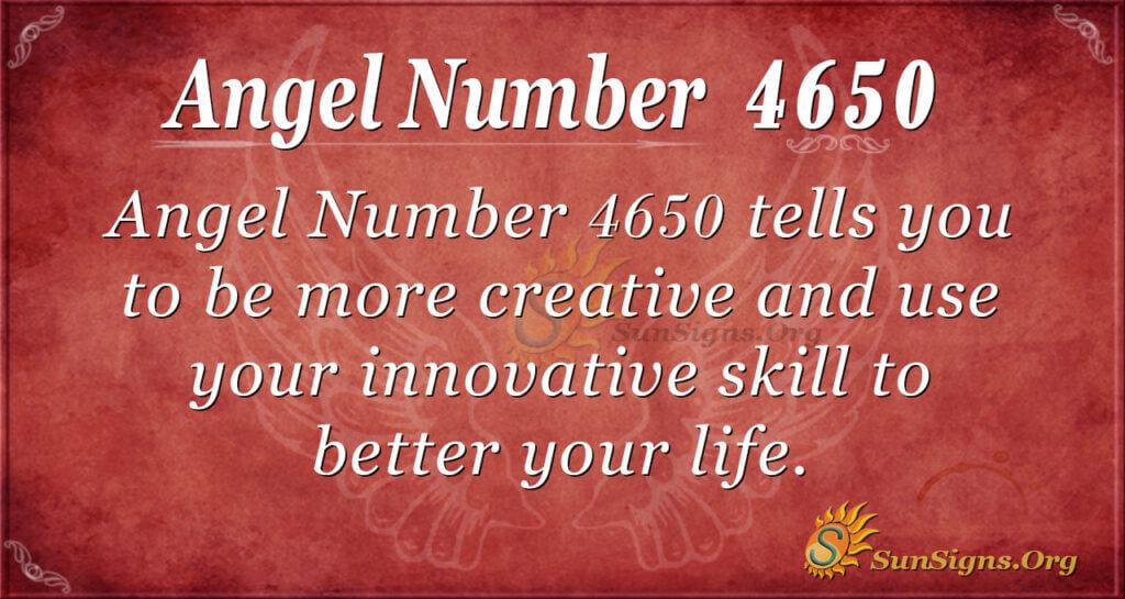 4650 angel number