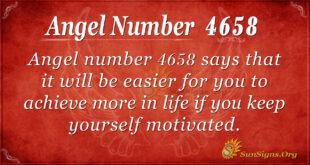4658 angel number