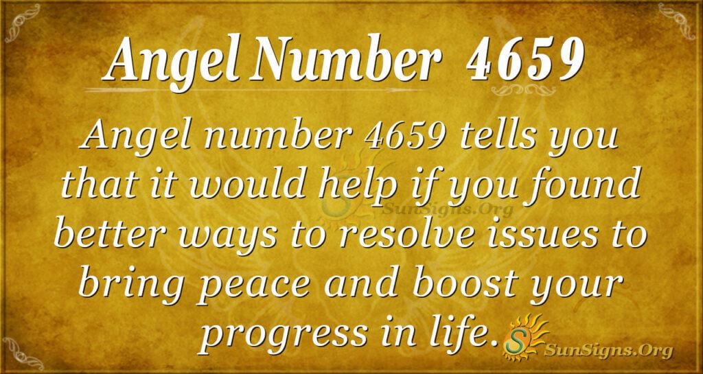 4659 angel number