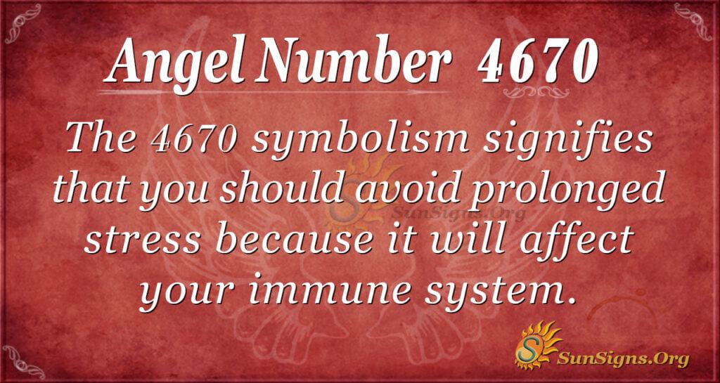 4670 angel number