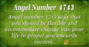 4743 angel number