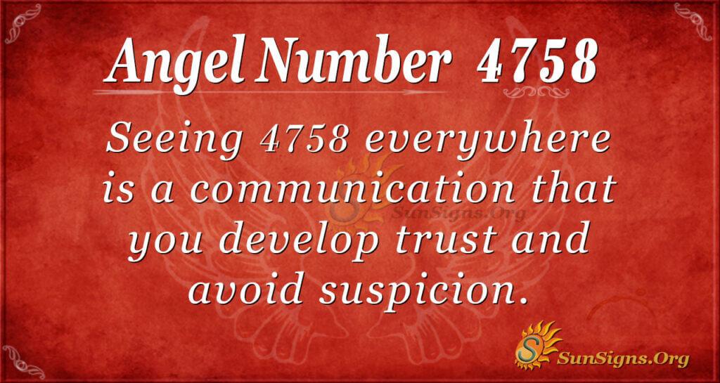 4758 angel number