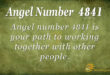 4841 angel number