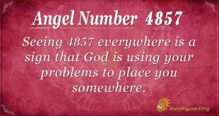 4857 angel number