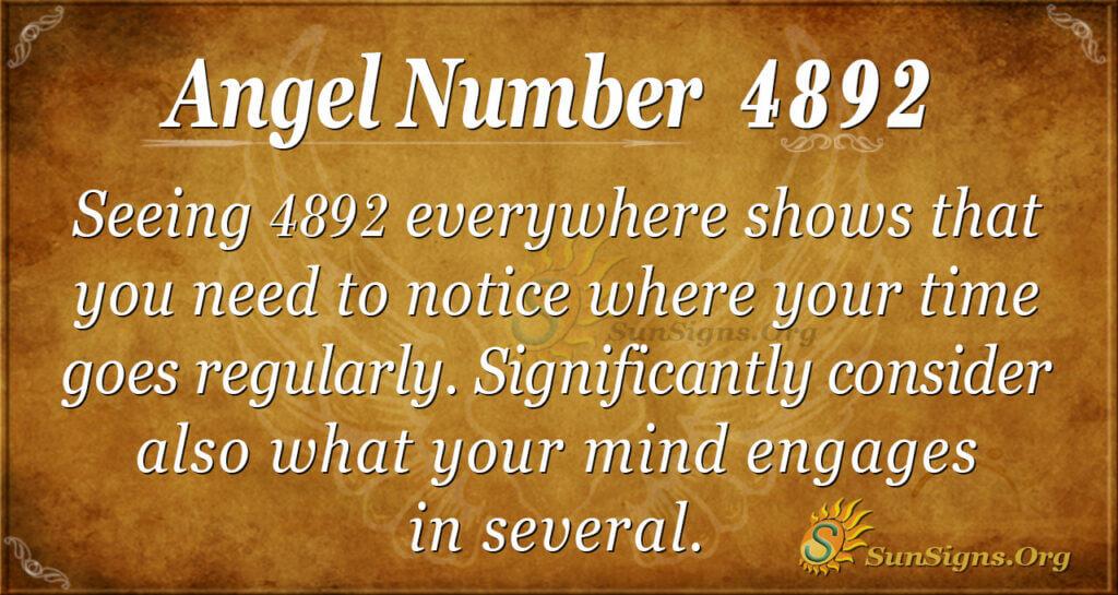4892 angel number