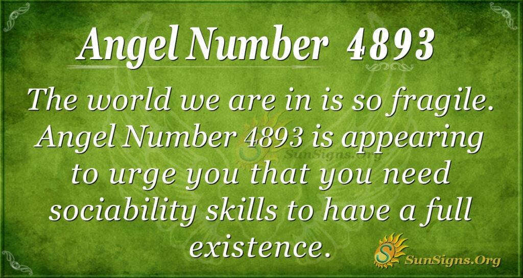 4893 angel number