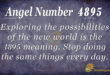 4895 angel number