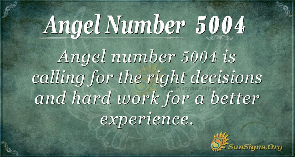 5004 angel number
