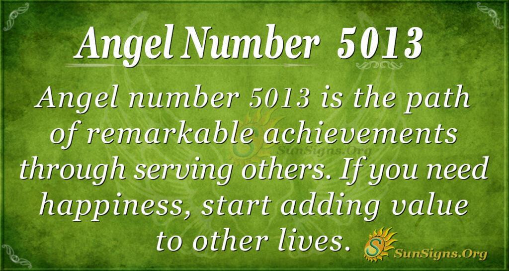 5013 angel number