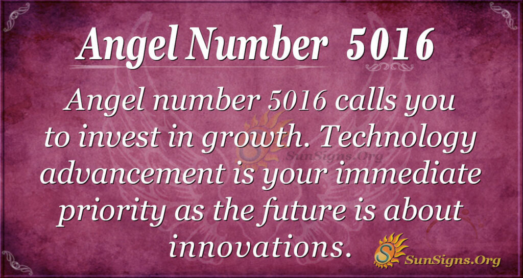 5016 angel number