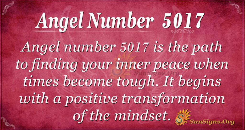 5017 angel number