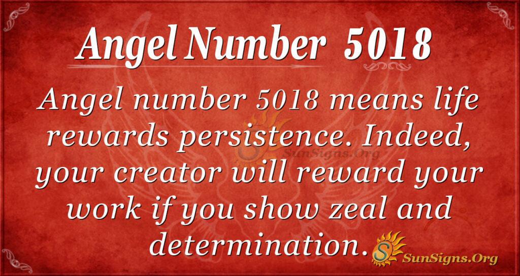 5018 angel number