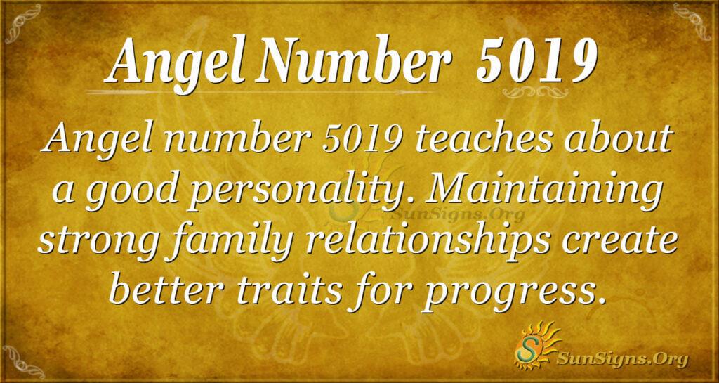 5019 angel number