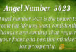 5023 angel number