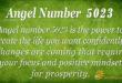 5023 angel number