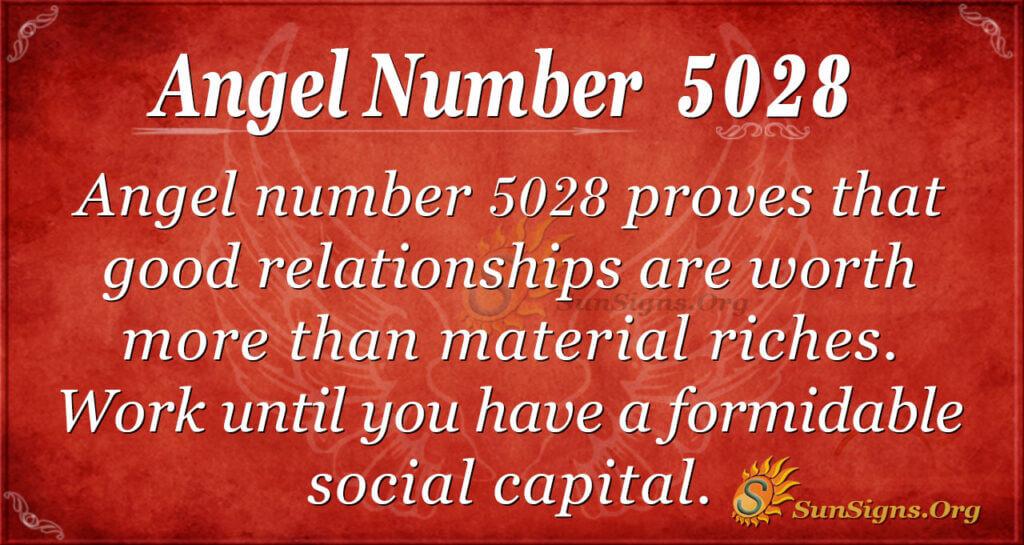 5028 angel number