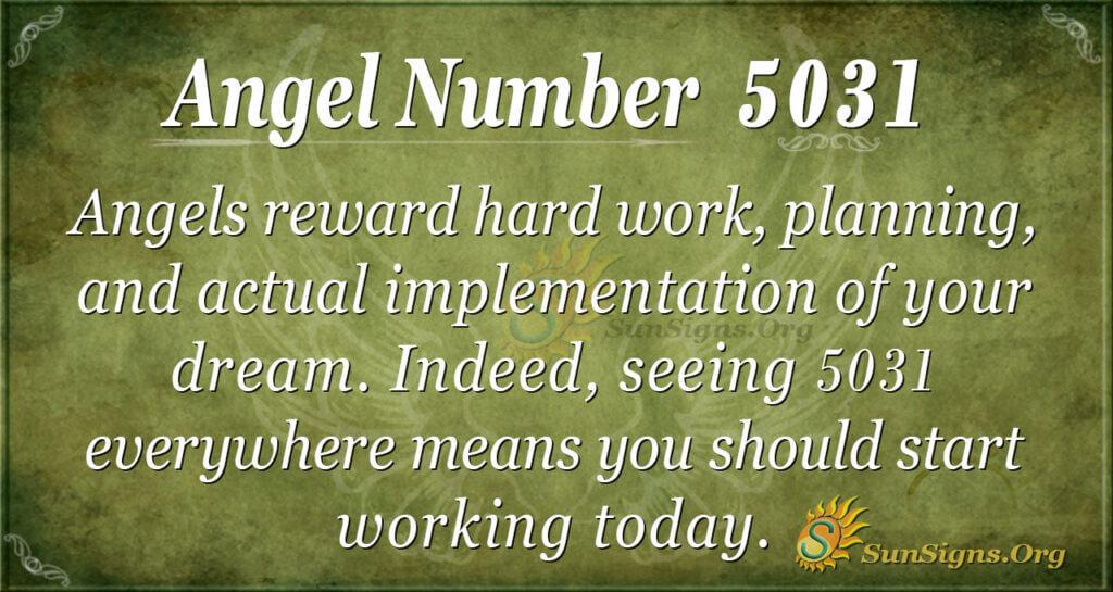 5031 angel number