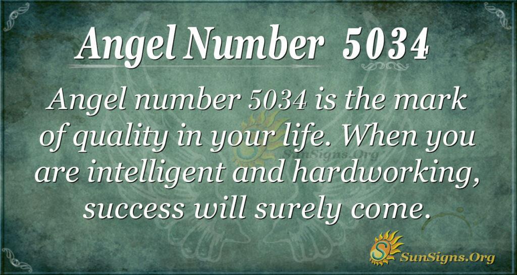 5034 angel number