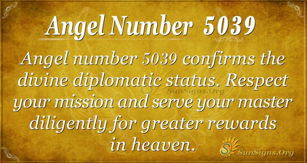 5039 angel number