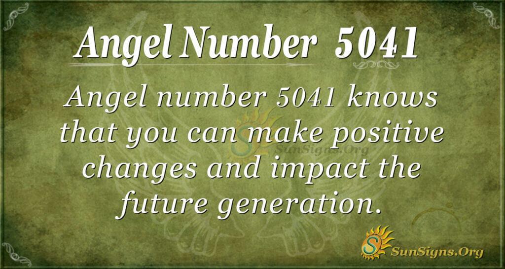 5041 angel number