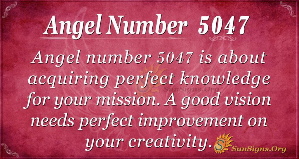 5047 angel number