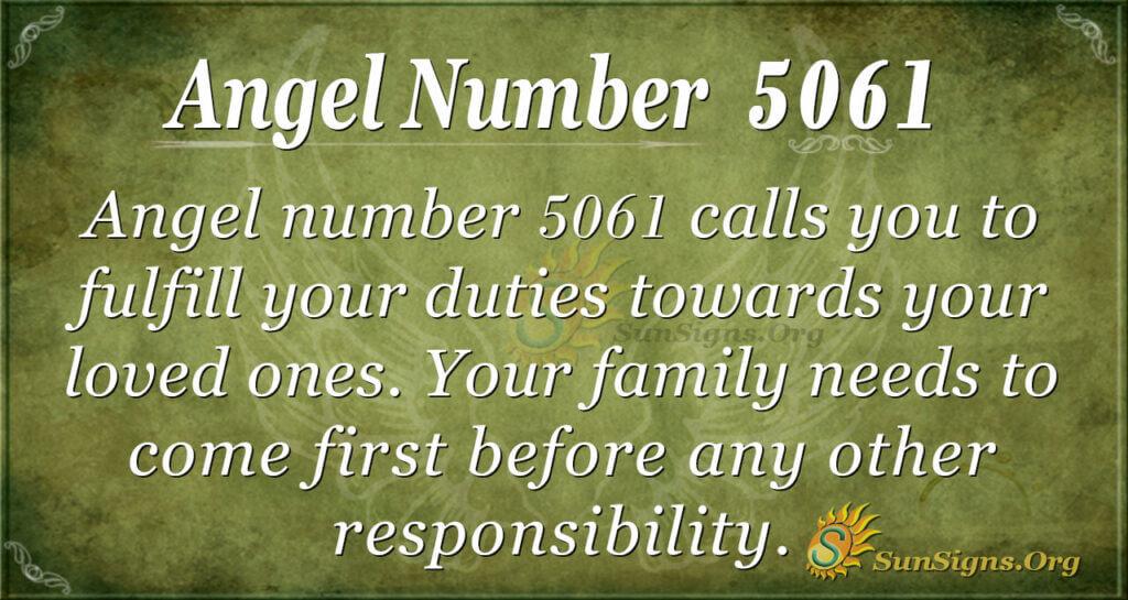 5061 angel number