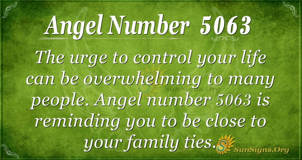 5063 angel number
