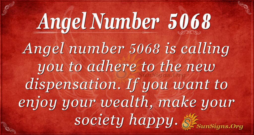 5068 angel number