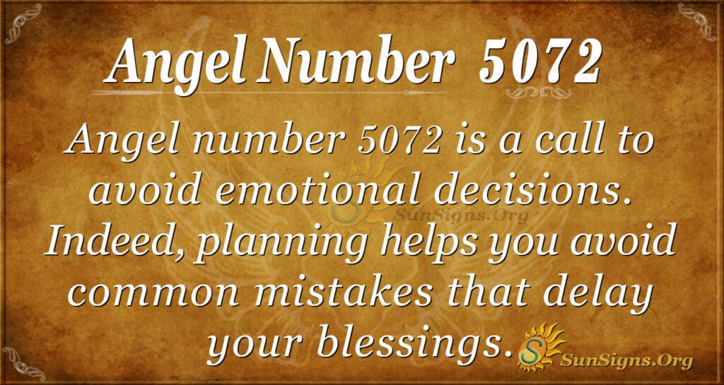 5072 angel number